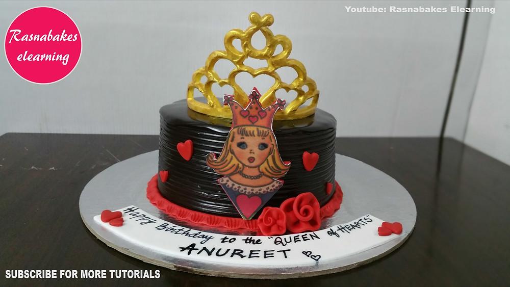 happy birthday mummy cake