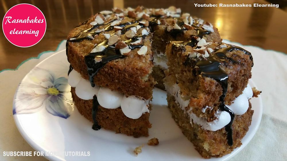 Banana Victoria cake recipe