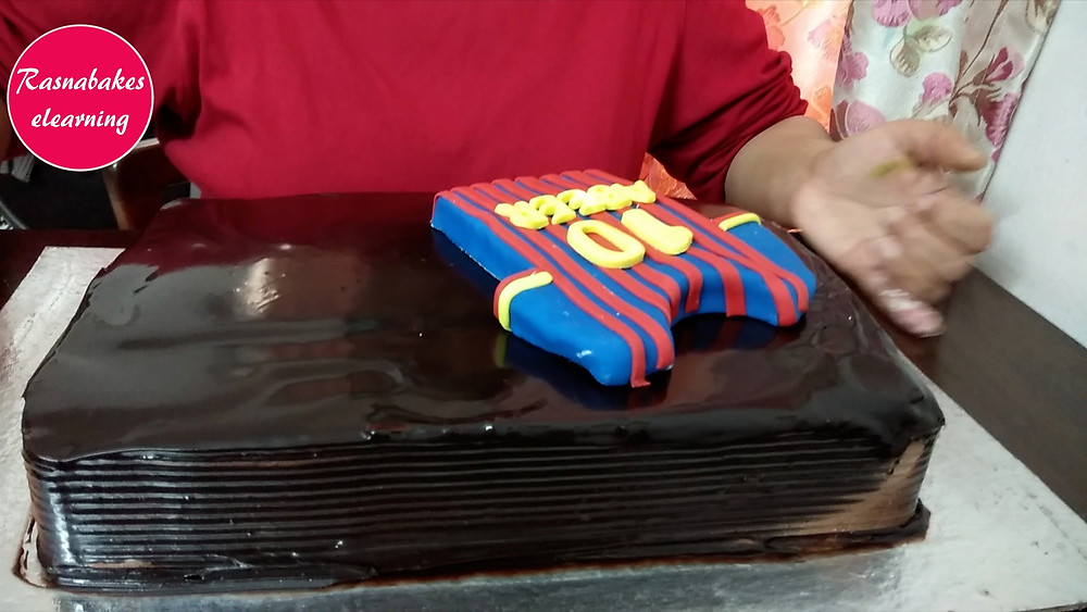 football jersey cake design for kids