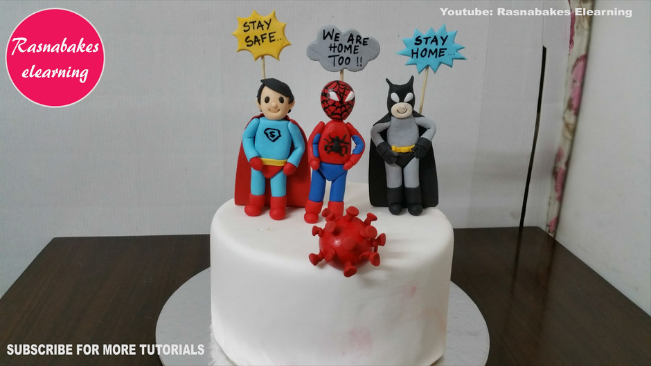 Lockdown cake design