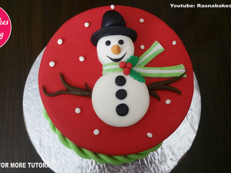Best Christmas themed cake Gift ideas designs decorating tutorial video.