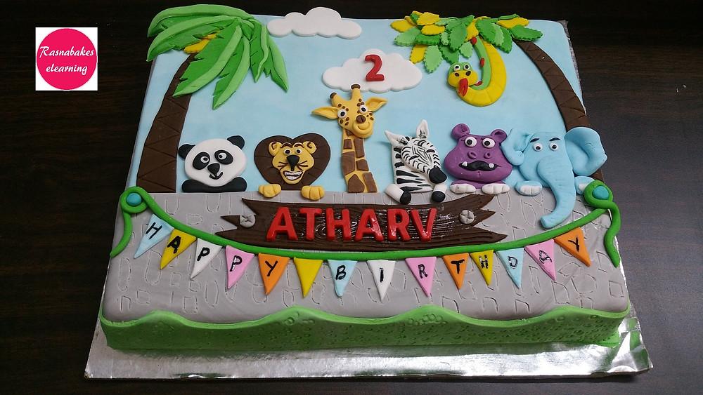 simple cake design decoration
