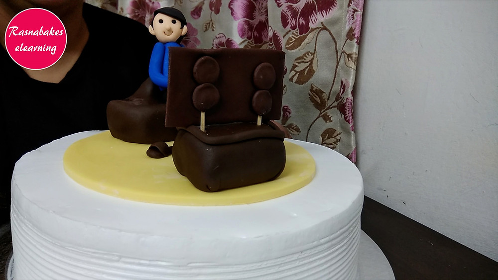 birthday cake for father decoration at home