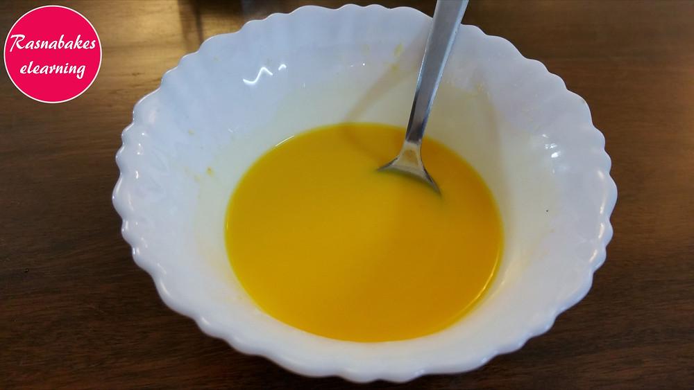 custard mixture