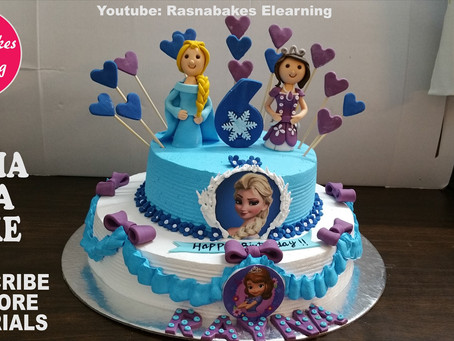 Cake design for girls