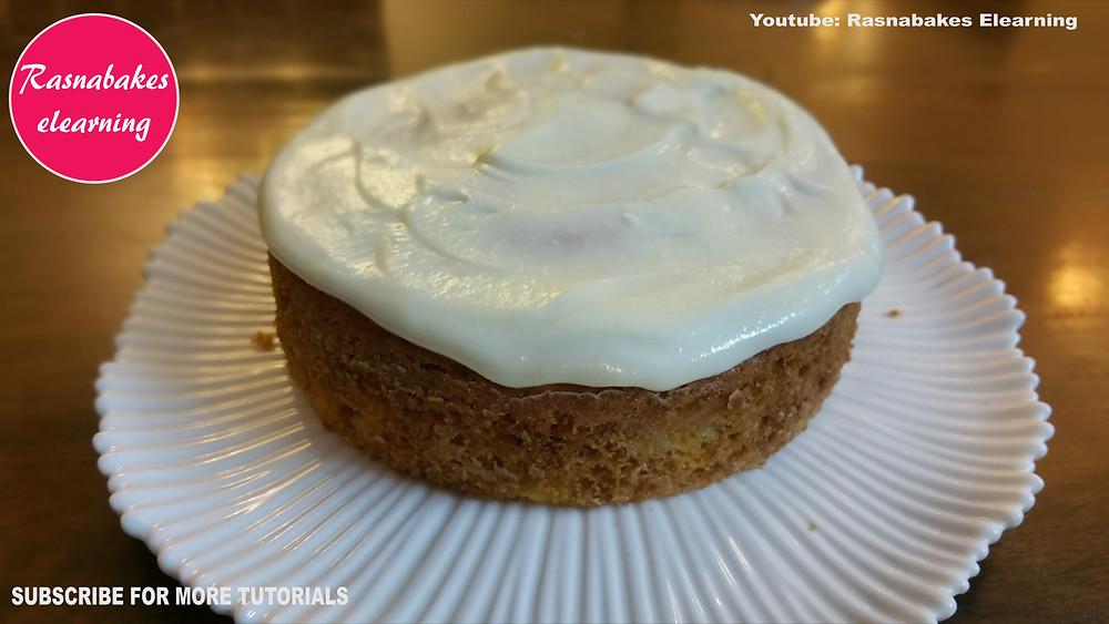 easy simple quick Mango Victoria cake desserts baking recipes ideas