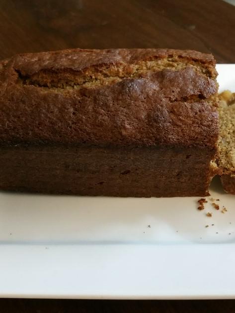 simple moist easy healthy best banana bread loaf recipe:how to make easy banana cake recipe