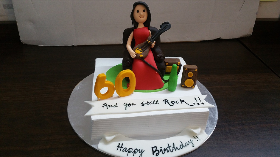 60th birthday cake for mom