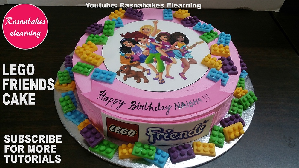 how to decorate a birthday cake