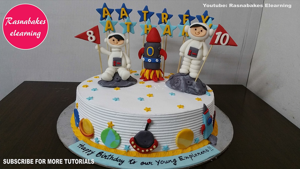Awesome Space Planet Galaxy Rocket Theme Birthday Cake Gift Funny Birthday Cards Online Alyptdamsfinfo
