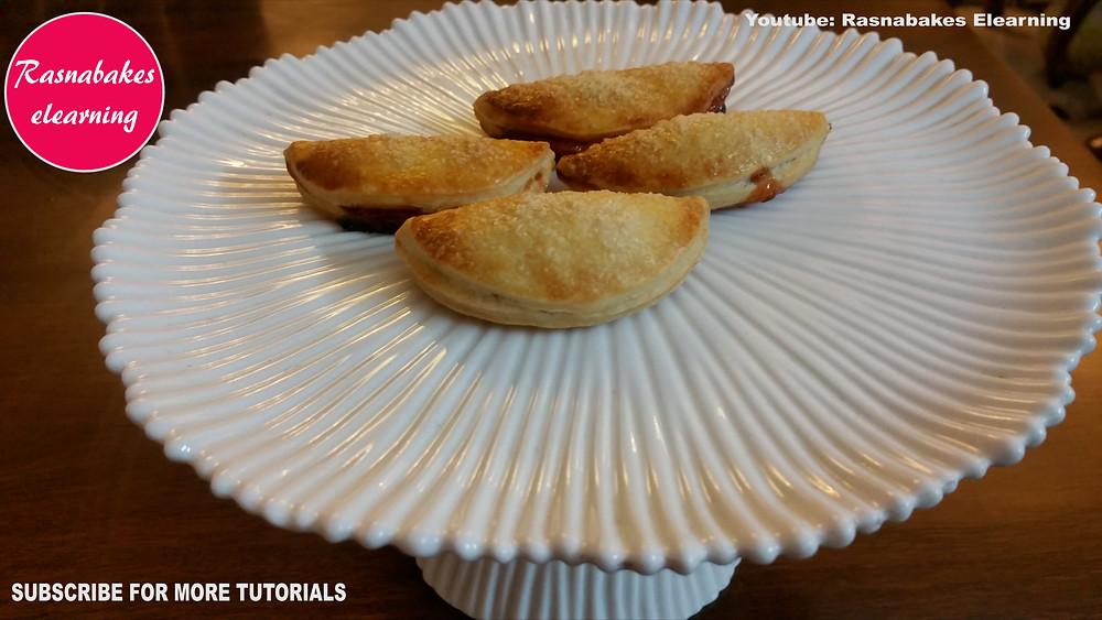 Apple Turnover puff pastry dessert
