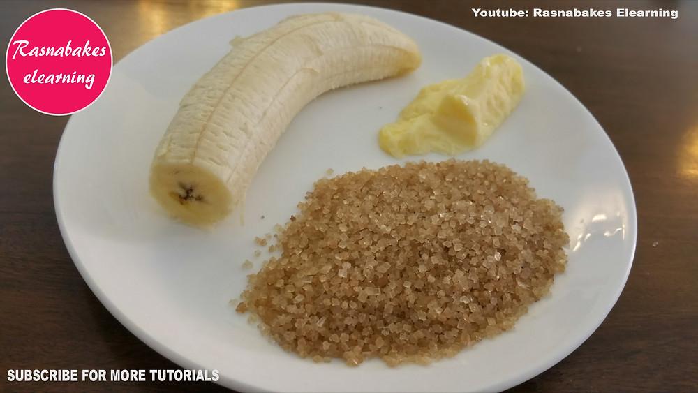 banana pan cake