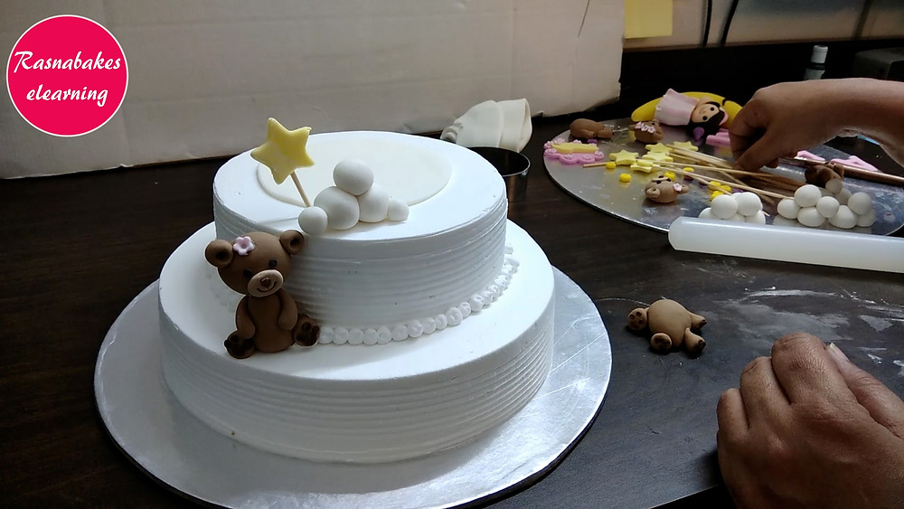 cake decoration at home