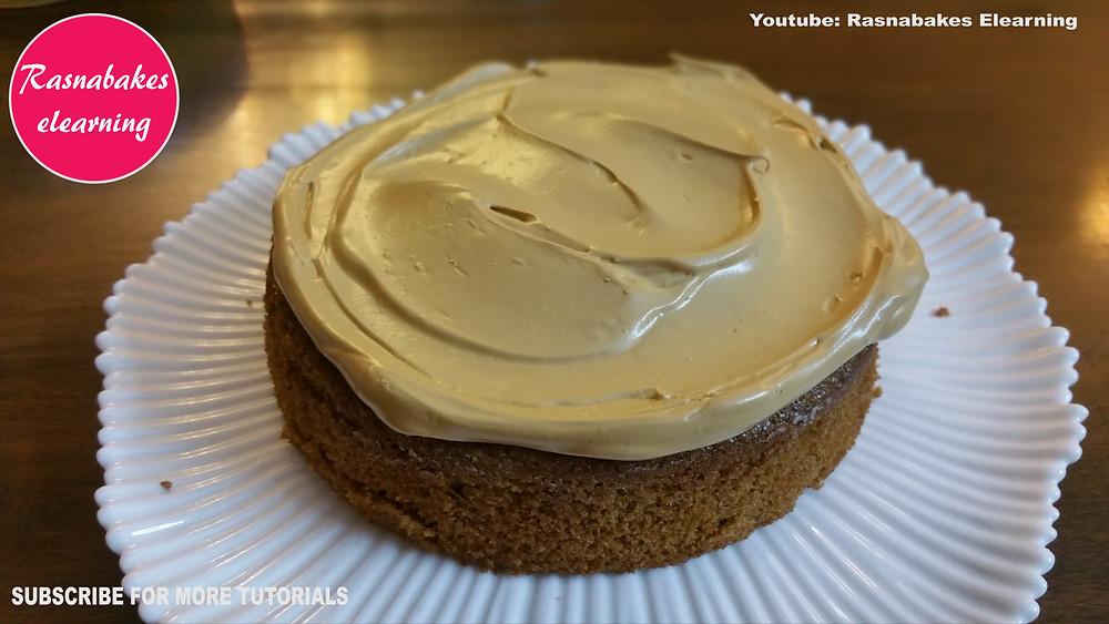 dalgona coffee flavored cake re recipe