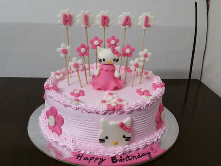 Hello Kitty Birthday Gift ideas or Cake design for kids