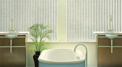 Vertical Blind With Fabric Louvers