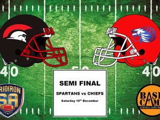 Semi Final - Spartans vs Chiefs