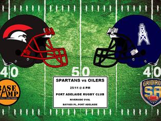 2017 Round 12 - Spartans vs Oilers
