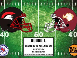 Round 1: Spartans vs Hogs