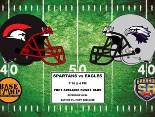 2017 Round 5 - Spartans vs Eagles