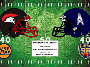 2017 Round 2 - Spartans vs Oilers