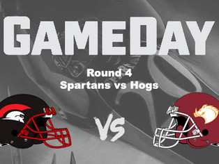 2018 Round 4 - Spartans vs Hogs