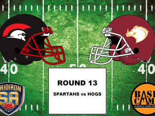 Round 13 - Spartans vs Hogs