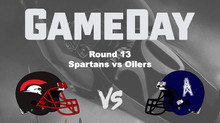 2018 Round 13 - Spartans vs Oilers