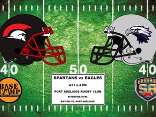2017 Round 9 - Spartans vs Eagles