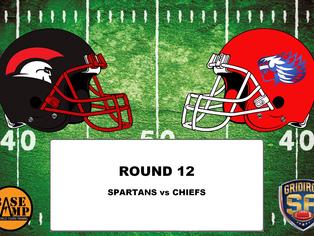 Round 12 - Spartans vs Chiefs