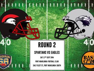 Round 2 - Spartans vs Eagles