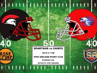 2017 Round 8 - Spartans vs Chiefs