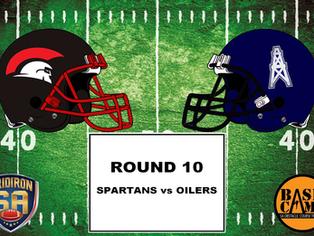 Round 10 - Spartans vs Oilers