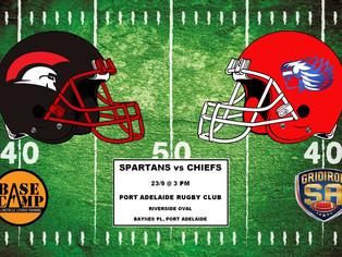 2017 Round 3 - Spartans vs Chiefs