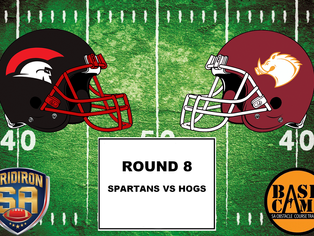 Round 8 - Spartans vs Hogs