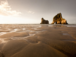 Wharariki Beach, North West Nelson, New Zealand