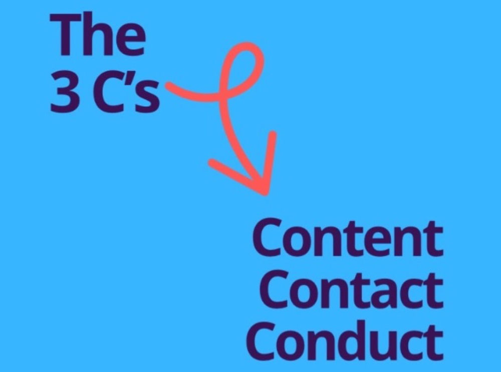 The 3 C's: Content, Contact and Conduct