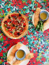 rouleau de printemps pizza