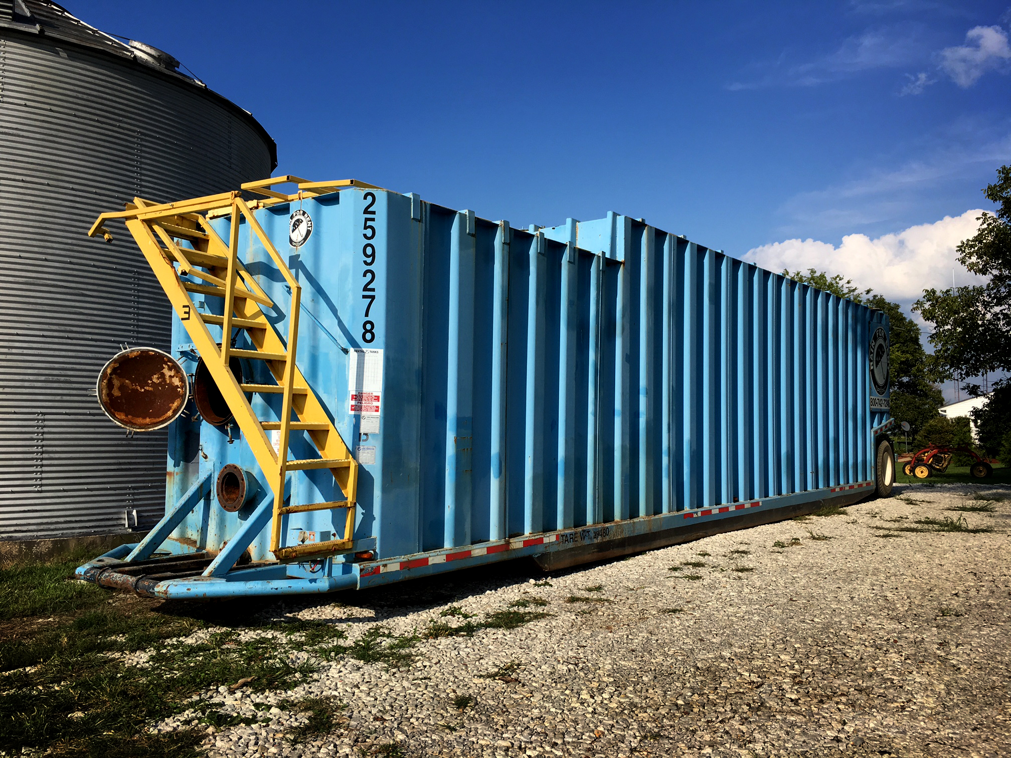 Frac tank_ Before Painting
