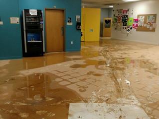 ArtSpace School Damaged by Flood