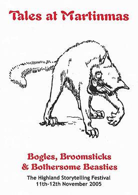 Tales at Martinmas festival Bogles