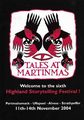 Tales at Martinmas festival Vikings