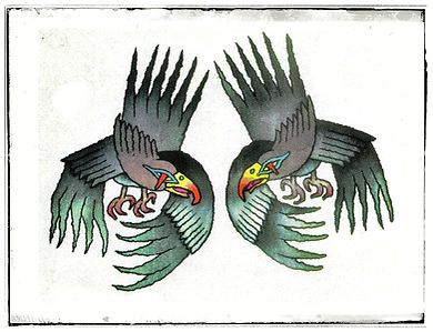 Odin's Ravens, Bones