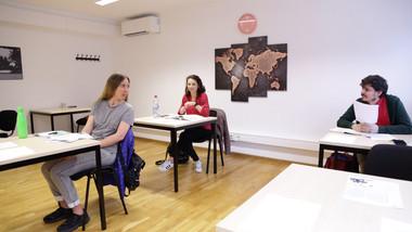German course participants