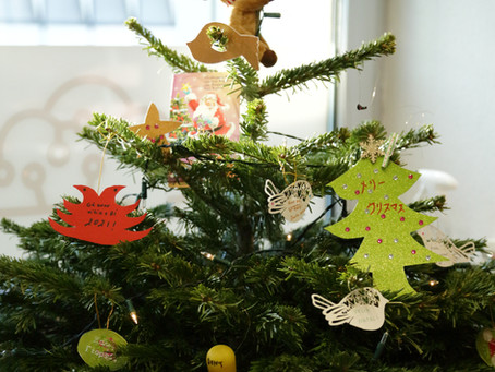 Our international Christmas tree
