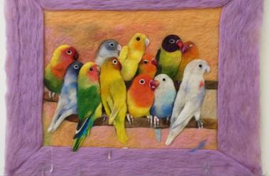 Exhibiiton of Elma Ferchland's art