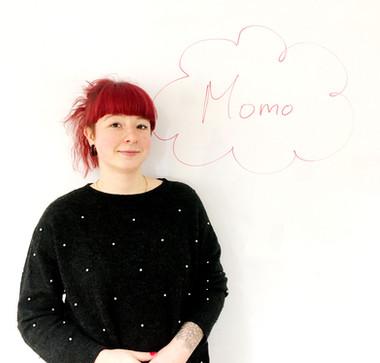 new colleague Momo