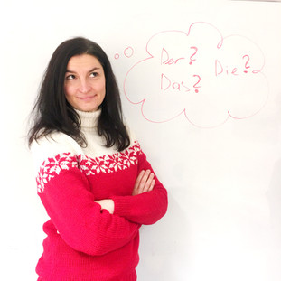 new colleague Evgenia
