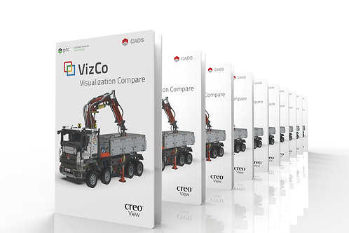 Annual maintenance for VizCo for Creo View | Floating 10+1 licenses