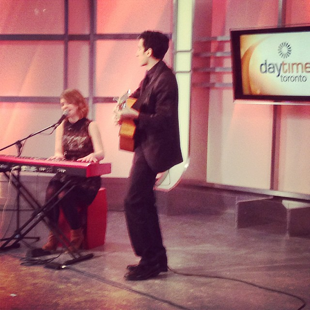 Filming _rogerstvtoronto.jpg Tune in tomorrow and Monday at 10am to catch our performances